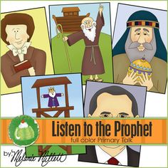 LISTEN to the PROPHET Primary Talk  by GreenJelloWithCarrot, $2.50