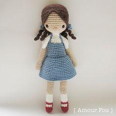 Dorothy  Crochet Pattern par Amour Fou par AmourFouCrochet sur Etsy