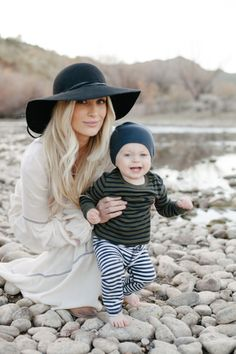 Mother & Son photos, they can make me melt. This stylish mama and her precious boy captured some moments that they'll cherish for a lifetime. Oh, and I love her dress and wish it was mine! Mommy And Son, Mom And Baby, Baby Love, Baby Kids, Mama Baby, Baby Boy Fashion, Kids Fashion, Spring Fashion, Cute Kids