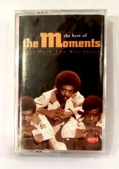 The Best of the MOMENTS: Love on a Two-Way Street CASSETTE TAPE - NEW/Factory Se #Soul