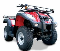 AKUMA Rancher 250 Quad - Larger Full Size Elite Model - Shaft Drive -