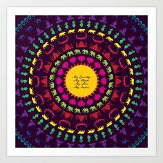 My India.  Art Print by vidhi shah - $14.56