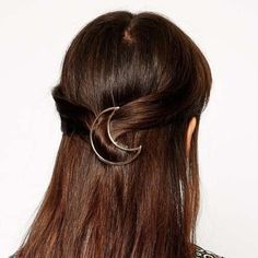 Chic Solid Color Moon Shape Women's Hairgrip Hair Accessories | RoseGal.com Mobile