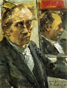 The Athenaeum - Last Self Portrait (Lovis Corinth - )