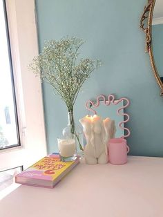 Cute Room Ideas, Cute Room Decor, Room Ideas Bedroom, Bedroom Decor, Pastel Bedroom, Uni Room, Aesthetic Room Decor, Dream Decor, Dream Rooms