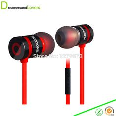 Merrisport Bass Earphones In Ear Earphones Noise Cancelling Earbuds For Iphone Samsung Xiaomi Huawei Mobile Phone MP3 MP4 Black