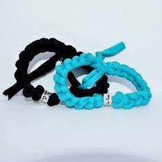 This set of 2 personalized couple bracelets would be the perfect gift for your 2nd anniversary. Wearing matching jewelry and the initial of your partner can show your love to him/her, which is the greatest cotton anniversary gift you can give. I invite you to check out my shop for more designs and more colors.