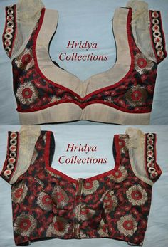 Patch Work Blouse Designs, Best Blouse Designs, Simple Blouse Designs, Blouse Back Neck Designs, Stylish Blouse Design, Sari Blouse Designs, Designer Blouse Patterns, Red Blouses, White Lace