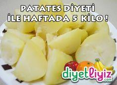Haftada 5 kilo verdiren patates diyeti programı ile hızlı zayıflamak mümkün !