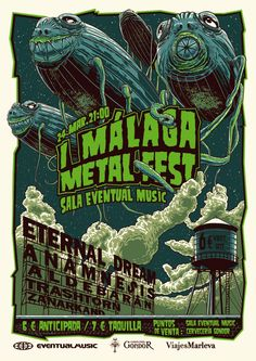 Málaga Metal Fest on Behance