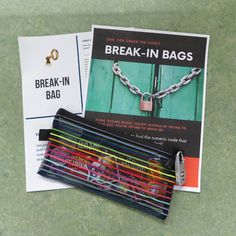 Create your own mini escape room in a bag, except instead of trying to break out, you're trying to break in! Solve the puzzles to unlock the bag and free the prizes. #libraryprogram Teen Programs, Library Programs, Adult Crafts, Crafts For Teens, Room In A Bag, Teen Library, Summer Reading Program, Teen Summer, Books For Teens