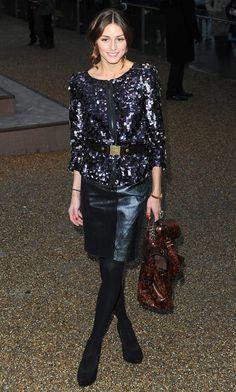 Olivia Palermo Photos: Burberry Prorsum Show Arrivals