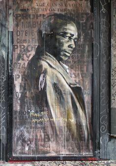 Mural artwork by Faith47 #street #art #graffiti
