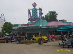 Coasters Drive-In : located in Cedar Point, Sandusky, Ohio. Sandusky Ohio, Cedar Point, Toledo Ohio, Cleveland Rocks, Roller Coasters, America, Amusement Parks, Places, Markers