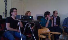 Werknemers van House of Social Concepts tijdens een SEO training