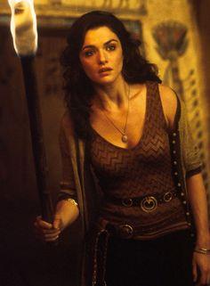 "Rachel Weisz en""El Regreso de la Momia"" (The Mummy Returns), 2001"