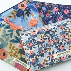 Small Zipper Pouch, Rifle Paper Co, Coin Purse, Wallet, Back to School, Purse, Gifts for her under 10, Organize, Travel Pouch, Change Purse