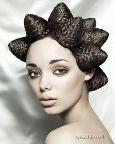 avent garde makeup | 2012-avant-garde-braided-hairstyle.jpg