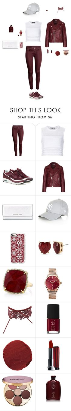 """""""Untitled #34"""" by mayashmila ❤ liked on Polyvore featuring Thakoon, NIKE, Ganni, MICHAEL Michael Kors, Topshop, Casetify, Betsey Johnson, Anne Sisteron, Thomas Sabo and Charlotte Russe"""
