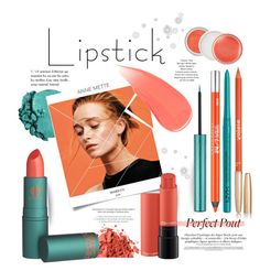 """""""lush lips in coral for spring"""" by paperdollsq ❤ liked on Polyvore featuring beauty, Lancôme, StyleNanda, Bobbi Brown Cosmetics, Burberry, Urban Decay, NYX, Sisley, MAC Cosmetics and Clinique"""