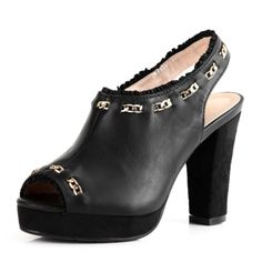 Actually like these heels but would prefer silver accents instead of gold... might not kill myself in these either.