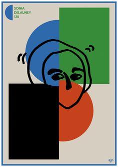 Sonia Delauney 130 - Takashi Akiyama