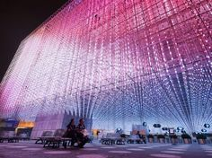 ATELIER FCJZ ARCHITECTS  Dream Cube: Shanghai Corporate Pavilion Shanghai, China