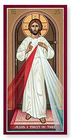 Divine Mercy Icon for sale- I like this image better than most I've seen. (mounted or print only)
