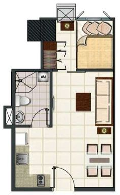 1000 images about house plans on pinterest condos 1 bedroom apartments and floor plans for 1 bedroom condo floor plans