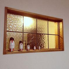 のマトリョーシカ/ペンギン/nico and/リビングについてのインテリア実例を紹介。「ペンギンさんは室内窓のとこに置いてみました。」(この写真は 2014-08-03 22:07:07 に共有されました)