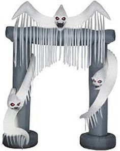 Halloween Inflatable 8 Haunted Ghost Archway by Gemmy *** Check this awesome product by going to the link at the image.