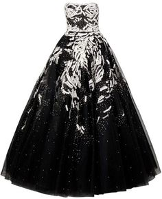 I wanna die in this dress by MARCHESA