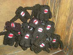 Domo Kun army!!! #domo #amigurumi #crochet #keychain #cute #kawaii Crochet Keychain, Army, Kawaii, Cool Stuff, Cute, Amigurumi, Gi Joe, Military