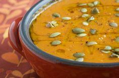 honey-chipotle sweet potato soup