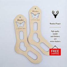 KnitPro Pair Aqua Sock Blockers 3 sizes Small Medium /& Large *Free P/&P*
