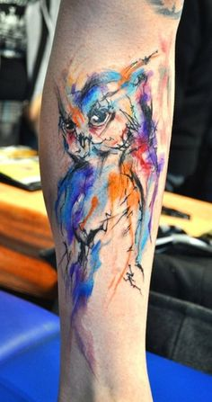 Owl tattoo - Click image to find more tattoos Pinterest pins