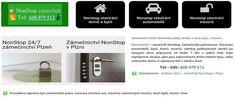 NonStop zámečnictví - zámečnická pohotovost 24-7 pro Plzeň