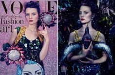 Mia Wasikowska Dazzles on Vogue Australia Cover, Brad Goreski's Oscar Dress Picks, How to Do Rihanna's Bad Girl Look