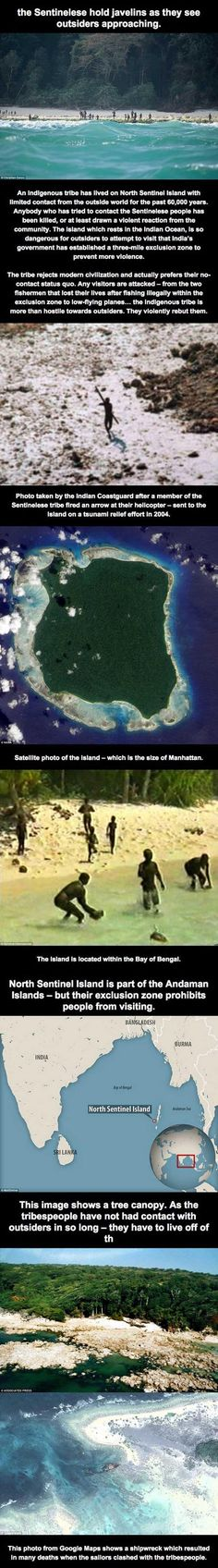 The Most Isolated Tribe In The World – 5 Pics