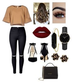 """""""Sin título #18"""" by yumyv ❤ liked on Polyvore featuring The Fifth Label, ROSEFIELD, BaubleBar, Nine West, Chantecler and Givenchy"""