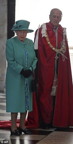 The Queen and Prince Philip...