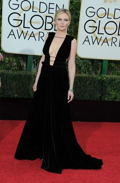 We picked the top eleven best dresses from the 73rd annual Golden Globe Awards, including Kirsten Dunst.