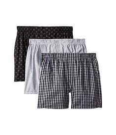 13b30ba03 Polo ralph lauren packaged woven boxers 3 pack