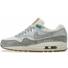 Nike Air Max 1 Youth Gs Schoenen Grijs Rood Geel