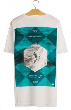 Osklen - T-SHIRT STONE SURFING POSTER MC - t-shirts - men