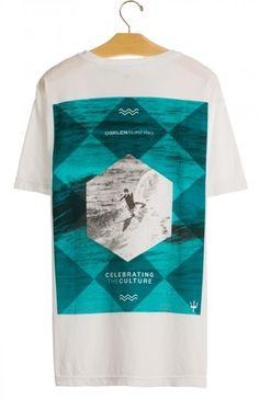 Osklen - T-SHIRT STONE SURFING POSTER MC - t-shirts - men
