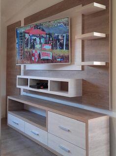 Catálogo   Room & Kitchen Designs   Comedor y Living   Paneles de TV Home, Flat Screen, Flatscreen Tv