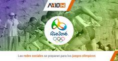 Las redes sociales se preparan para los juegos olímpicos