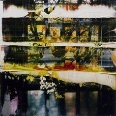 """""""Firenze"""", Gerhard Richter 11,8cm x 12cm, Oil on photograph"""