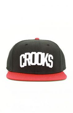 001cbf335c3 Crooks Athletic Snap-Back Hat by Crooks   Castles at MOOSE Limited Snap  Backs
